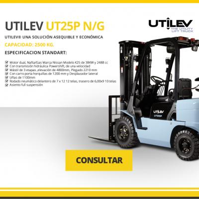 UTILEV MODELO UT25P N/G