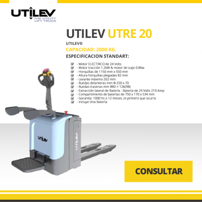 UTILEV MODELO UTRE 20
