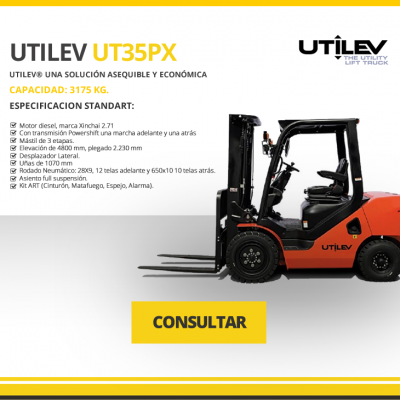 UTILEV MODELO UT35PX